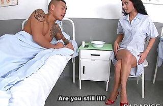 Nurse Feet Fetish at the Hospital - 12:36